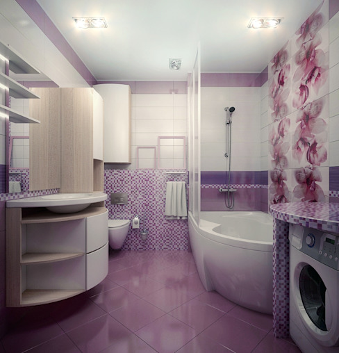 Modern bathroom by Инна Михайская Modern