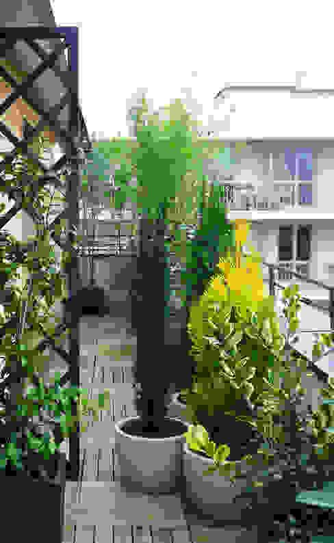 Skéa Designer Giardino minimalista Bambù Verde