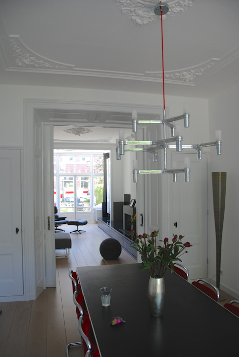 wooneetkamer van Marc Font Freide Architectuur