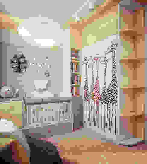 Habitaciones para niños de estilo moderno de Инна Михайская Moderno