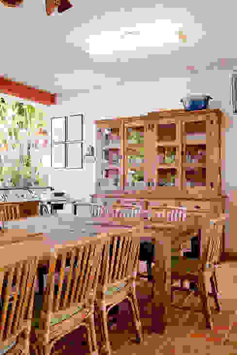 Cocinas de estilo  por Cactus Arquitetura e Urbanismo, Rural