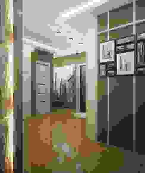 Projekty,  Korytarz, przedpokój zaprojektowane przez Инна Михайская