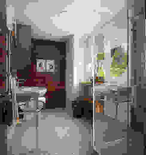 Проект гостевого домика Ванная в средиземноморском стиле от Инна Михайская Средиземноморский