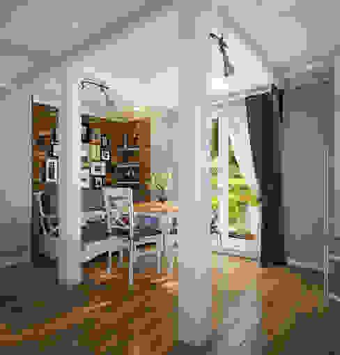 Инна Михайская Mediterranean style dining room