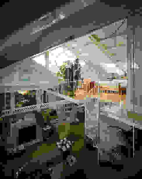 Salas de estar modernas por VITTORIO GARATTI ARCHITETTO Moderno
