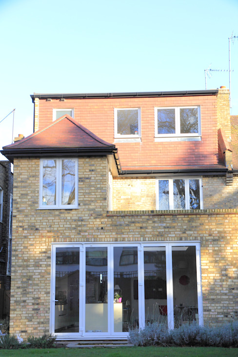 Ground Floor Extension, Hilton Ave Modern houses by London Building Renovation Modern