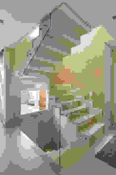 Pasillos, vestíbulos y escaleras modernos de Cactus Arquitetura e Urbanismo Moderno