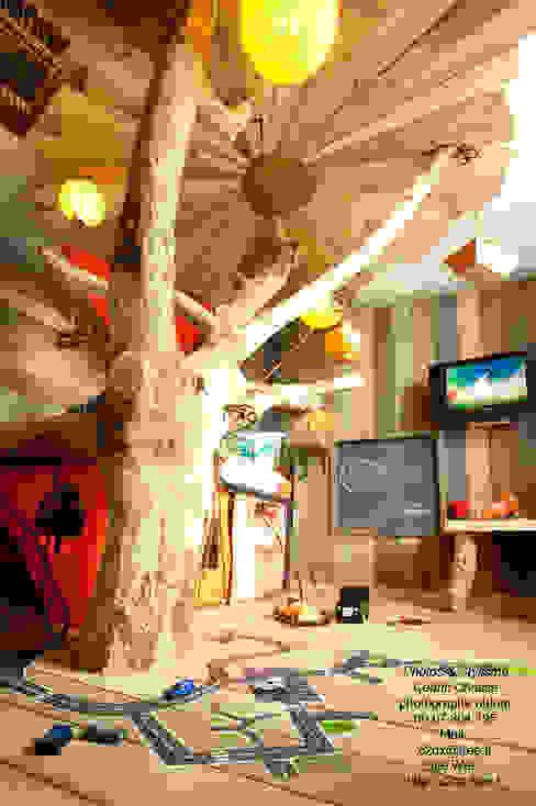 Frédéric TABARYが手掛けた折衷的な, オリジナル 木 木目調