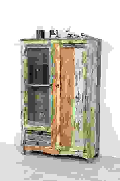 AMD Möbel Handelsgesellschaft mbH & Co. KG Living roomCupboards & sideboards Solid Wood Multicolored