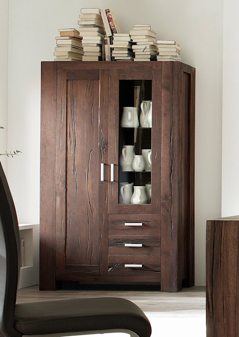 AMD Möbel Handelsgesellschaft mbH & Co. KG Living roomCupboards & sideboards Solid Wood Brown