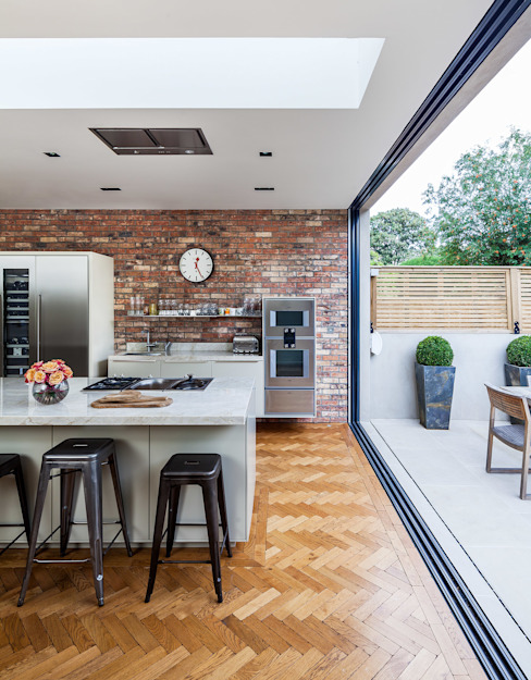 Ashley Road Cocinas de estilo moderno de Concept Eight Architects Moderno
