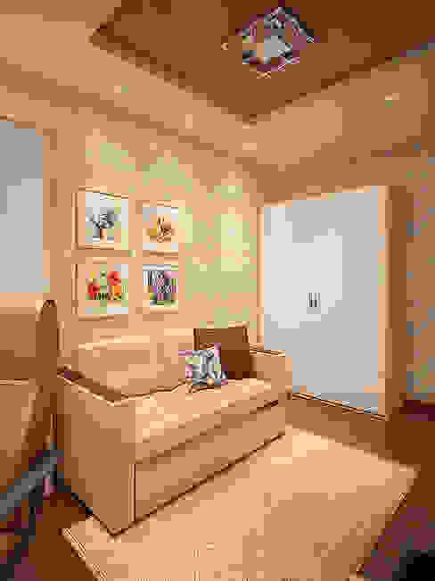 Ruang Studi/Kantor Minimalis Oleh Алина Насонова Minimalis