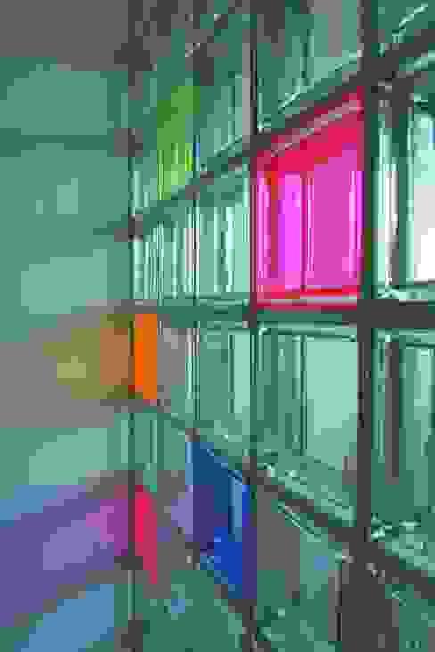 detail der trennwand Moderne Kinderzimmer von tritschler glasundform Modern Glas