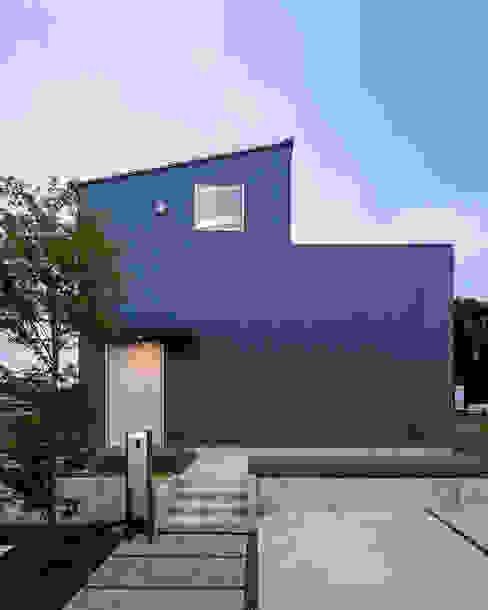 Moderne huizen van 萩原健治建築研究所 Modern