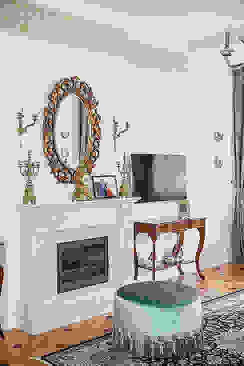 Дворянский особняк: Гостиная в . Автор – Designer Olga Aysina,