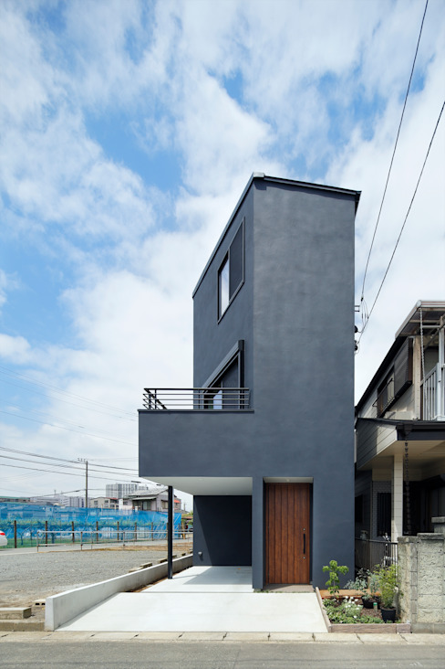 منازل تنفيذ 向山建築設計事務所