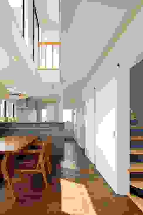 Ruang Makan oleh 向山建築設計事務所, Modern