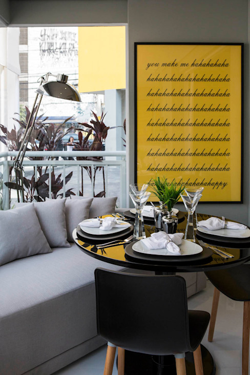 Ruang Makan Modern Oleh homify Modern