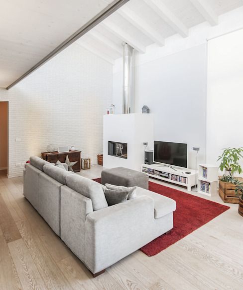 Modern Oturma Odası VILLE IN BIOEDILIZIA Modern