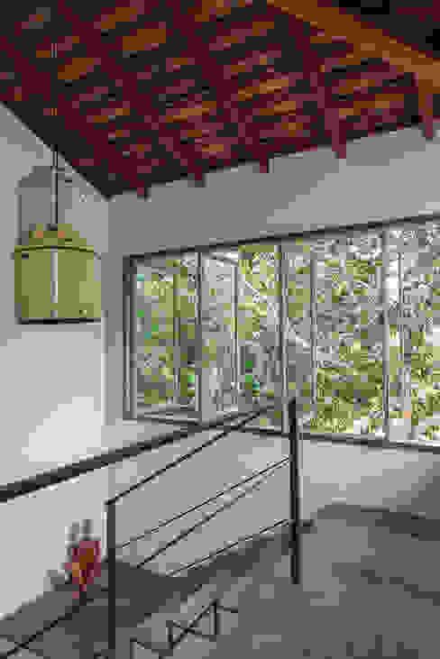Modern Corridor, Hallway and Staircase by Vida de Vila Modern Copper/Bronze/Brass