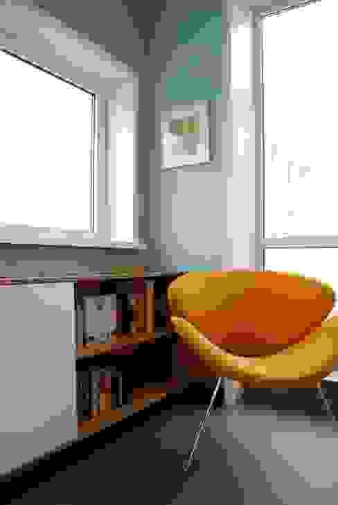 Penthouse Amsterdam Moderne woonkamers van homify Modern