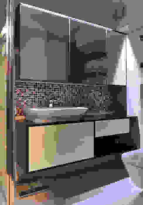 Zdjęcie z realizacji Nowoczesna łazienka od Katarzyna Wnęk Nowoczesny