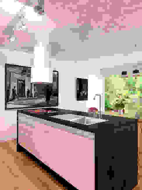 Même cuisine, autre vue par Architecture du bain Industriel