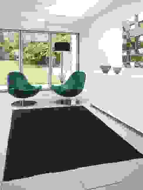 por Carpetscout24 GmbH Asiático Têxtil Ambar/dourado