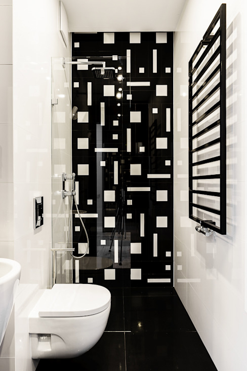 Bathroom by Anna Maria Sokołowska Architektura Wnętrz ,