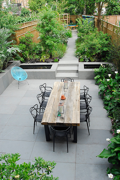 Contemporary Garden Design by London Based Garden Designer Josh Ward Jardin moderne par Josh Ward Garden Design Moderne