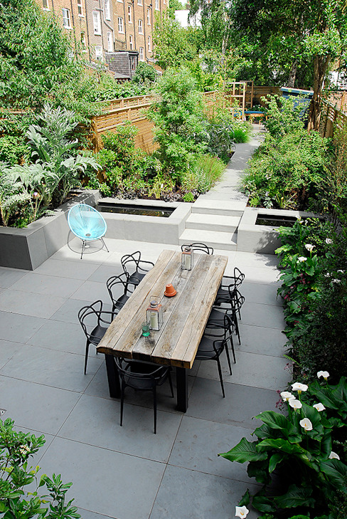 Contemporary Garden Design by London Based Garden Designer Josh Ward Josh Ward Garden Design สวน