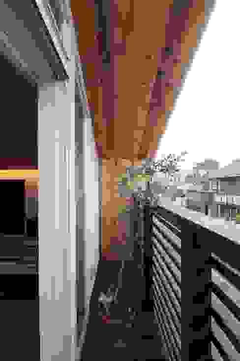 스칸디나비아 발코니, 베란다 & 테라스 by アトリエグローカル一級建築士事務所 북유럽