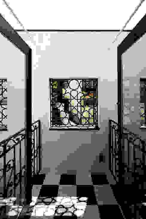 house in yokohama: 株式会社廣田悟建築設計事務所が手掛けたテラス・ベランダです。