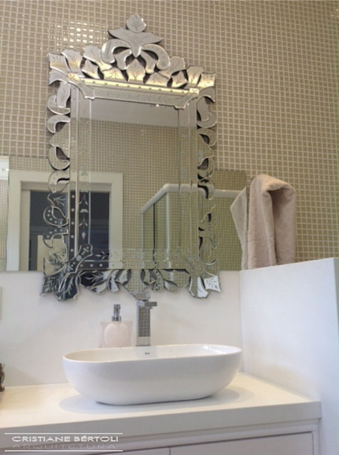 Cristiane Bértoli Arquitetura Modern Bathroom