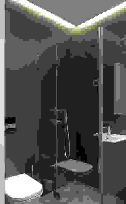 Taller transformado en vivienda Baños de estilo moderno de Taller 582 Moderno