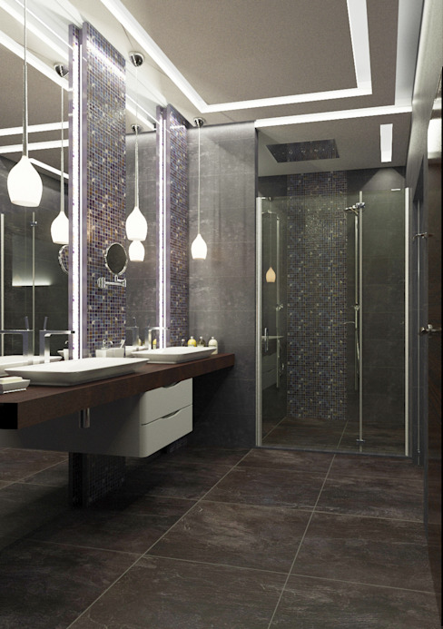 Insight Vision GmbH Modern style bathrooms