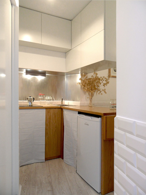 Cocinas de estilo mediterráneo de BL Design Arquitectura e Interiores Mediterráneo