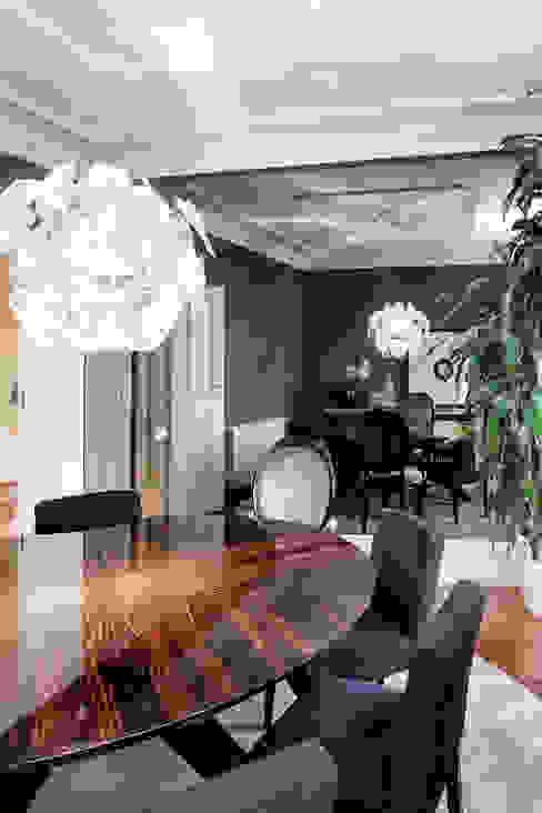 غرفة السفرة تنفيذ Jorge Cassio Dantas Lda, حداثي
