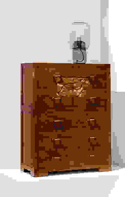 "Kommode ""Lang"" aus Ulmenholz in unserem Store von MuHo Style GmbH Asiatisch Holz Holznachbildung"