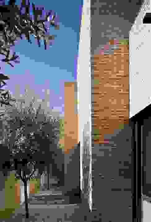 CASA RC Jardines de estilo mediterráneo de daniel rojas berzosa. arquitecto Mediterráneo