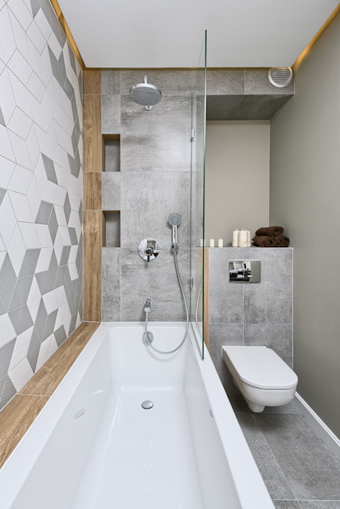 Scandinavian style bathroom by Q2Design Scandinavian