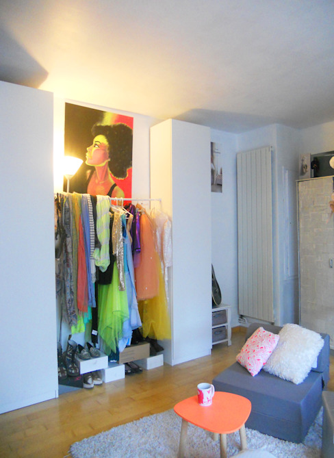 Eclectic style bedroom by Sylviane Gestalder Eclectic
