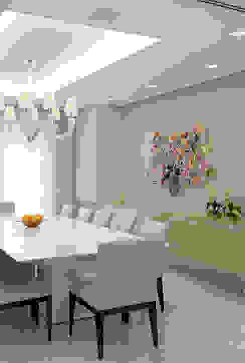 Apartamento Higienópolis 2 Salas de jantar modernas por Marcelo Rosset Arquitetura Moderno