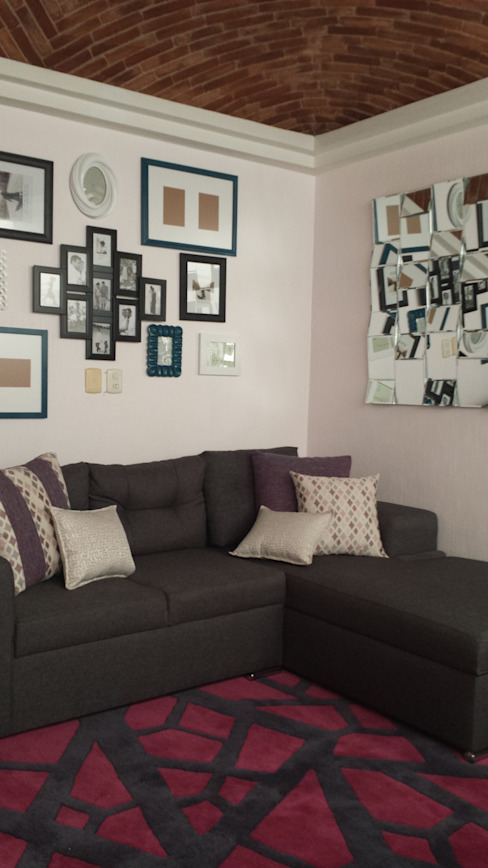 Salas de estar modernas por Paola Hernandez Studio Comfort Design Moderno