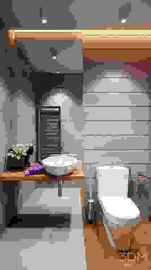Baños de estilo  por студия визуализации и дизайна интерьера '3dm2'