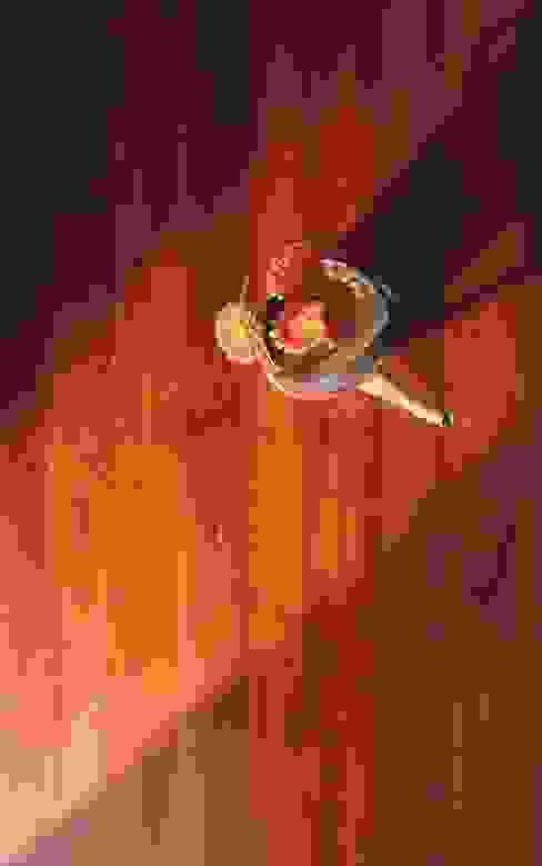 GIʎNT® African Red Padouk Tường & sàn phong cách châu Á bởi Ciambella Legnami Srl Châu Á Gỗ Wood effect