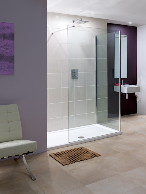 Marseilles 現代浴室設計點子、靈感&圖片 根據 Lakes Bathrooms 現代風