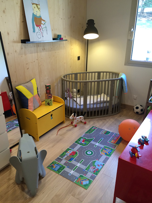 Nursery/kid's room by HomeMade Architecture[s]®