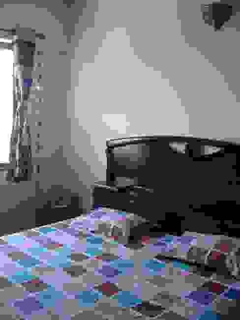 3bhk Residential Flat at Dhanori DS DESIGN STUDIO Modern style bedroom