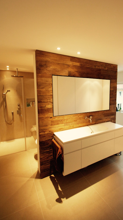 Bathroom by moser straller architekten, Modern